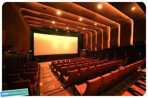پیشرفتهترین و لوکس ترین سینمای آسیا+عکس