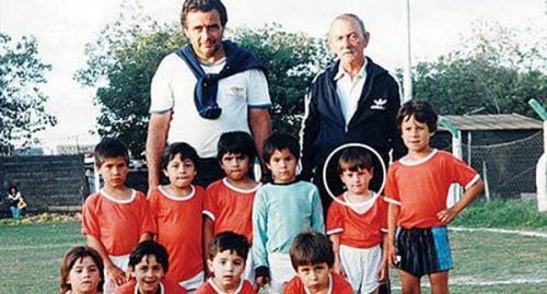 عکس مسی در کودکی